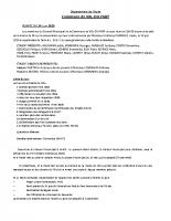 Compte Rendu Conseil Municipal 24 juin 2020