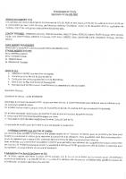 Compte-rendu Conseil Municipal 9 janvier 2021