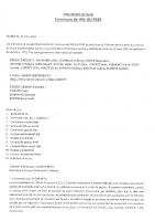 Compte-rendu Conseil Municipal 20 mars 2021